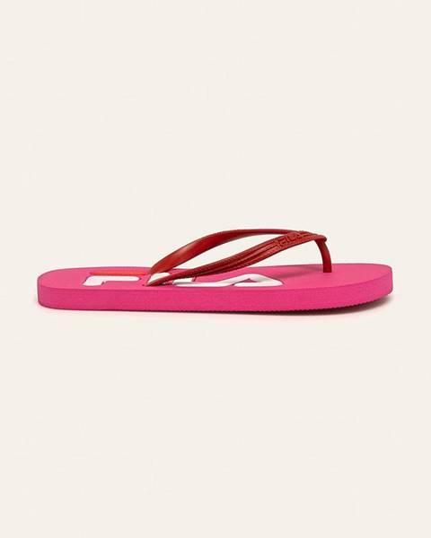 Růžové boty fila