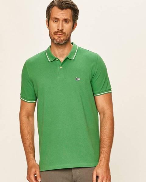 Zelené tričko lee