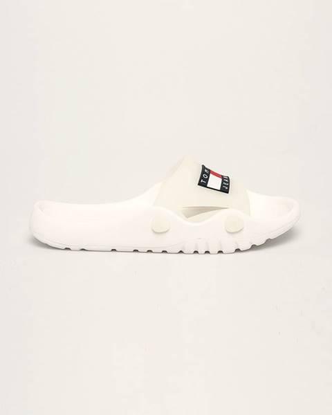 Bílé boty Tommy Jeans
