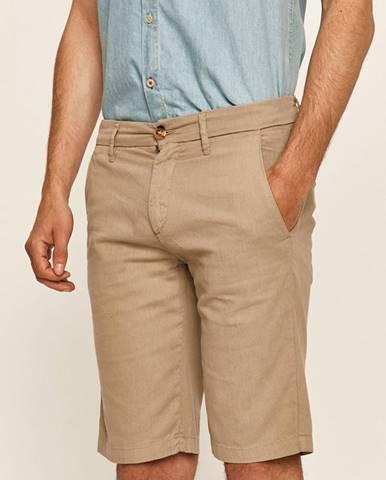 Šedé kraťasy Guess Jeans