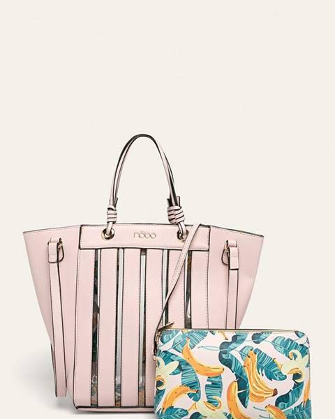 Růžová kabelka NOBO