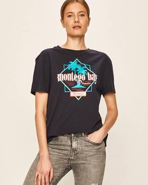 Modrý top wrangler