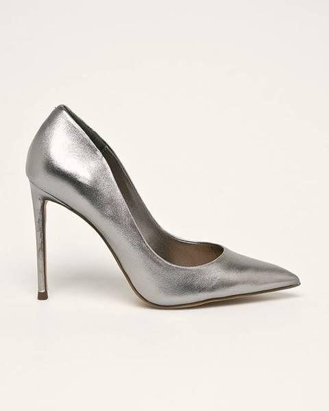 Šedé boty steve madden