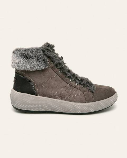 Šedé boty wrangler