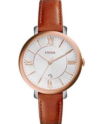 Hnědé hodinky Fossil