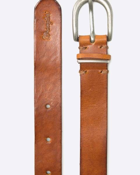 Hnědý pásek wrangler