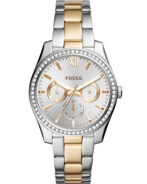 Zlaté hodinky Fossil
