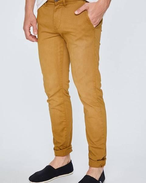 Hnědé kalhoty pepe jeans