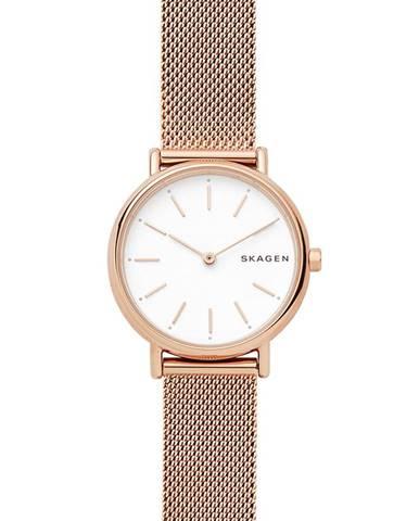 Zlaté hodinky Skagen