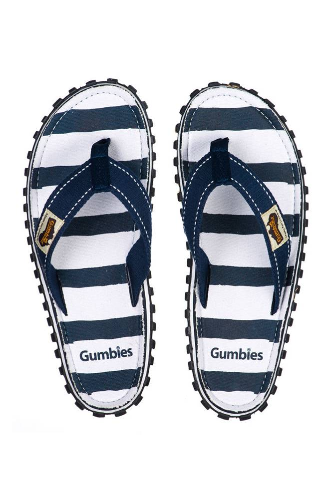 Gumbies - žabky Islander De...