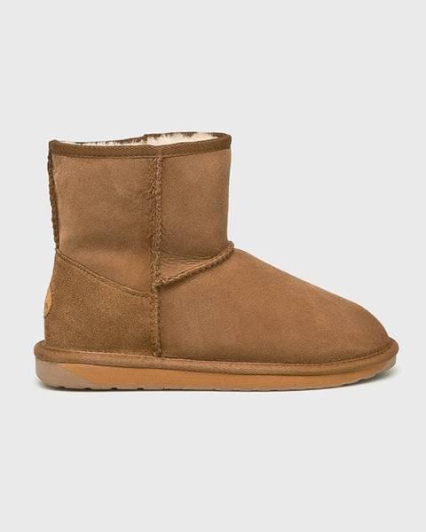 Hnědé boty Emu Australia