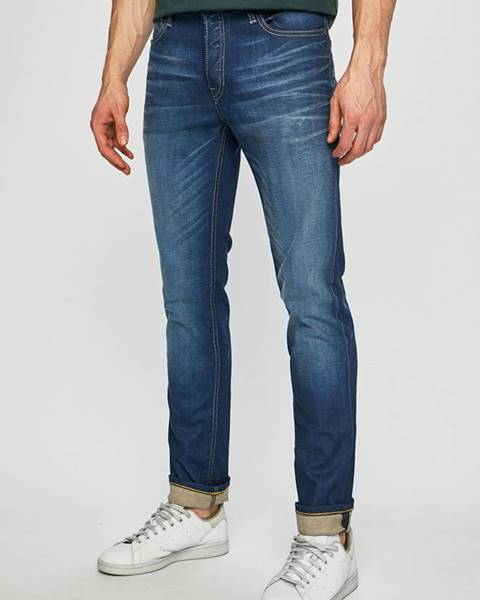 Modré kalhoty jack & jones