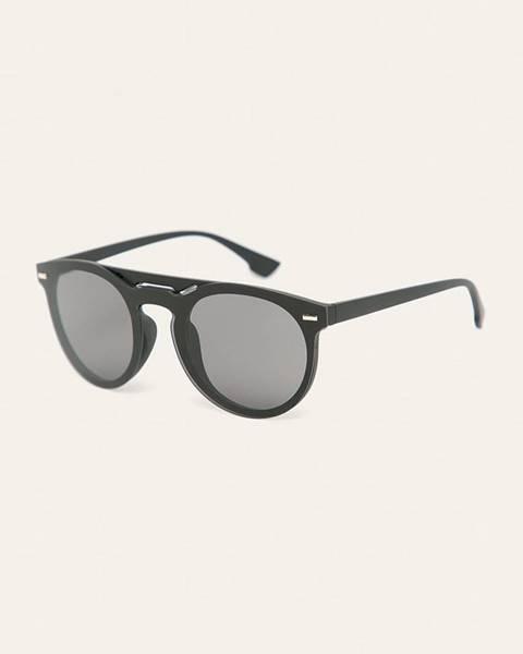 Černé brýle ANSWEAR