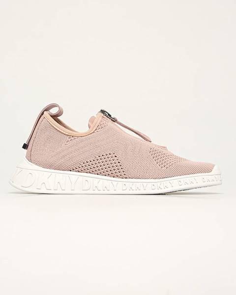 Béžové boty dkny