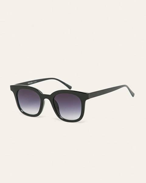 Černé brýle pieces