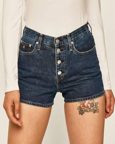 Modré kraťasy calvin klein jeans