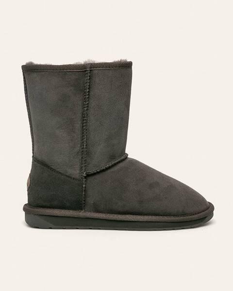 Šedé boty Emu Australia