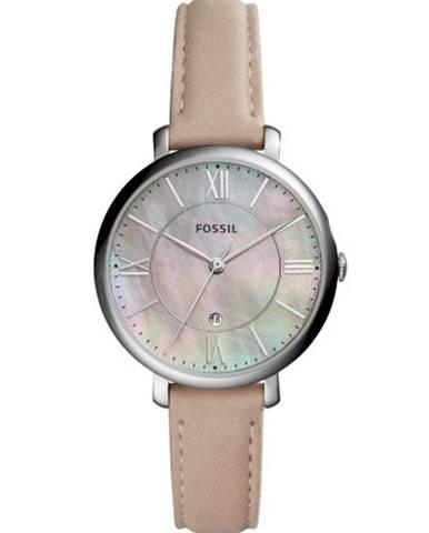Béžové hodinky Fossil