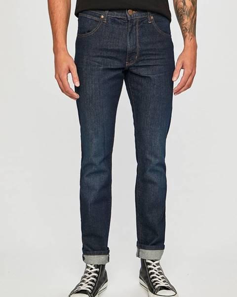 Modré kalhoty wrangler