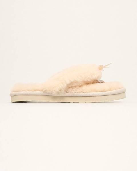 Béžové boty ugg