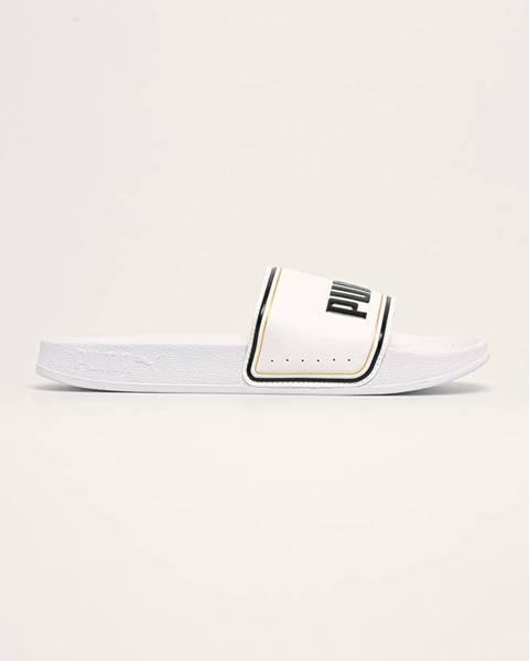 Bílé boty puma