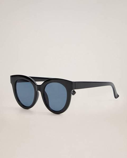 Černé brýle Mango