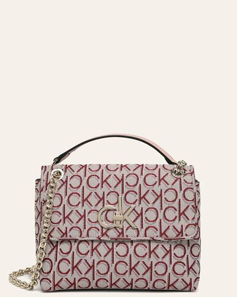 Vícebarevná kabelka Calvin Klein