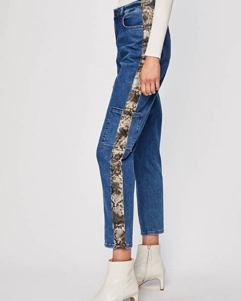 Modré kalhoty Silvian Heach