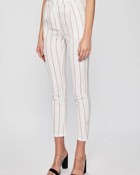 Bílé kalhoty Silvian Heach