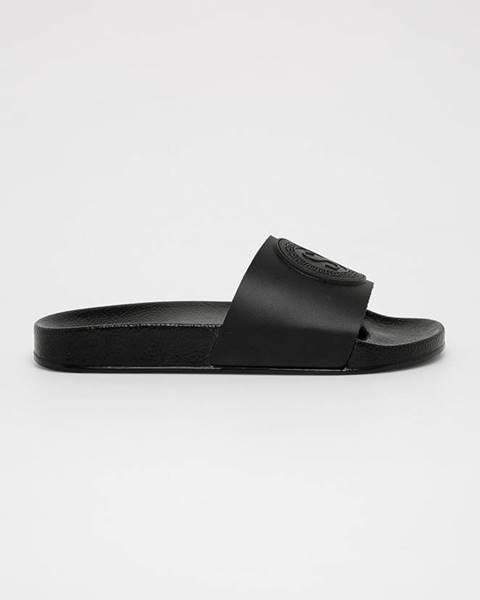 Černé boty Silvian Heach
