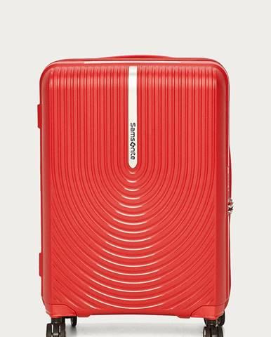 Červený kufr SAMSONITE