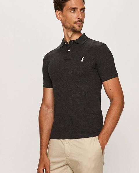 Černé tričko Polo Ralph Lauren