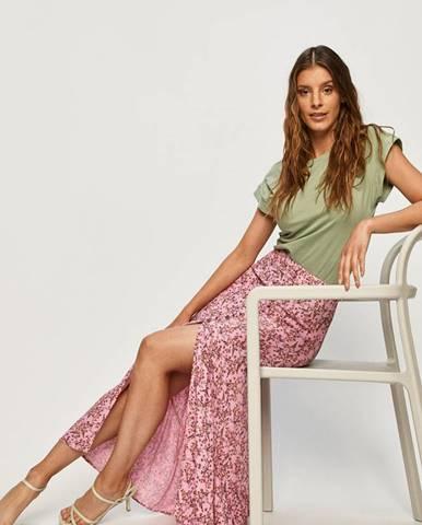 Růžová sukně ANSWEAR