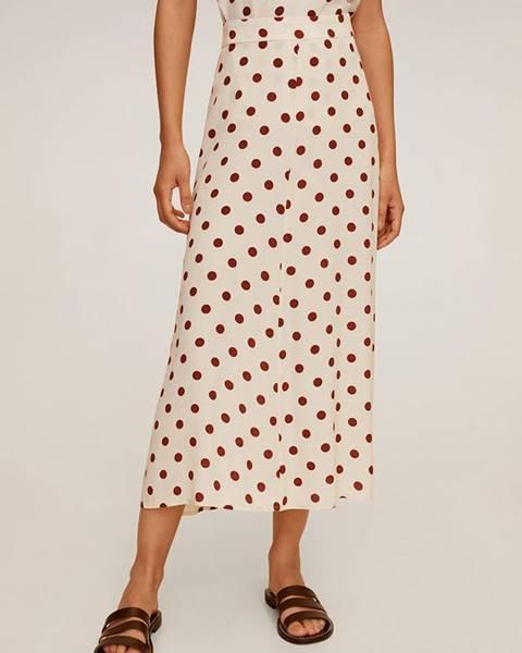 Béžová sukně Mango