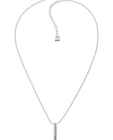 Stříbrný náhrdelník dkny