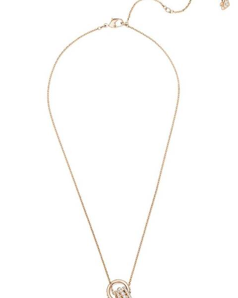 Zlatý náhrdelník Swarovski