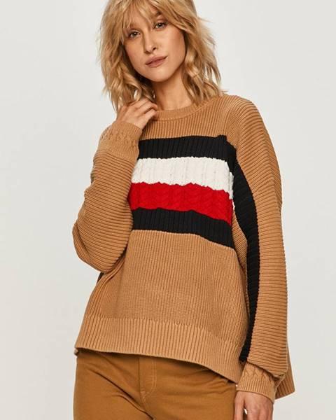 Vícebarevný svetr tommy hilfiger