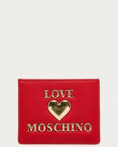 Červená peněženka Love Moschino