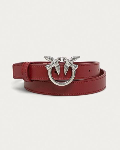 Červený pásek Pinko