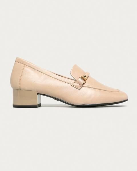 Béžové boty tamaris