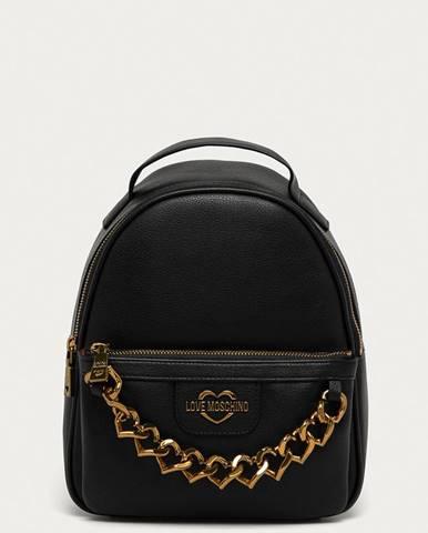 Černý batoh Love Moschino