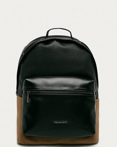 Černý batoh Trussardi Jeans