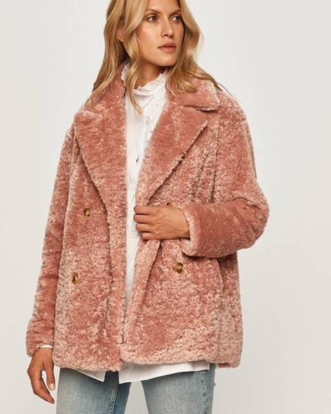 Růžová bunda Trussardi Jeans