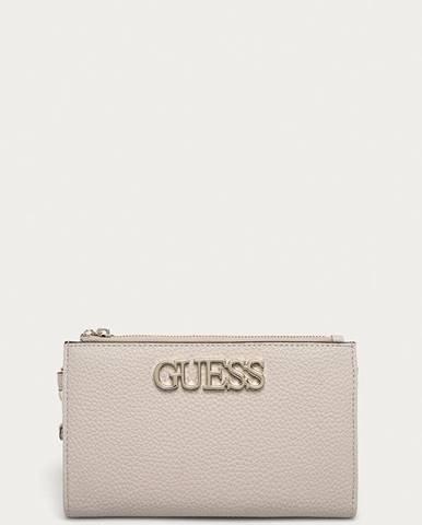 Béžová peněženka Guess Jeans