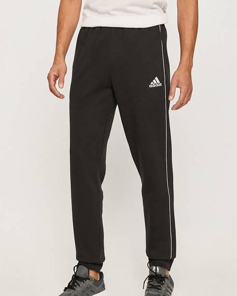 Černé kalhoty adidas performance