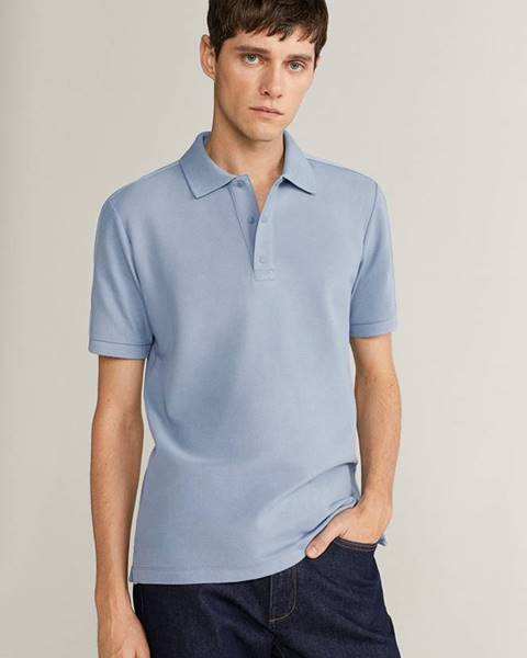 Modré tričko Mango Man