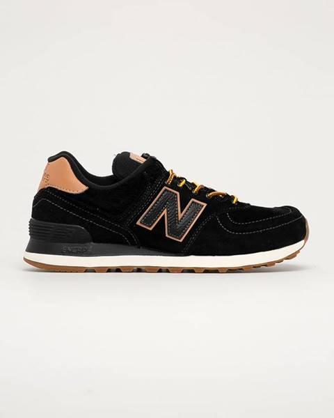 Černé boty new balance