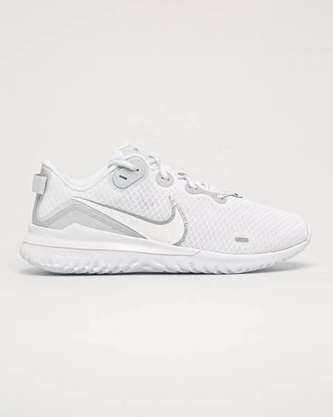 Bílé boty nike