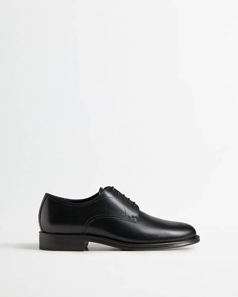 Černé boty Mango Man
