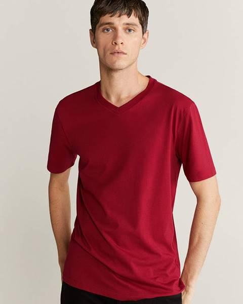 Červené tričko Mango Man